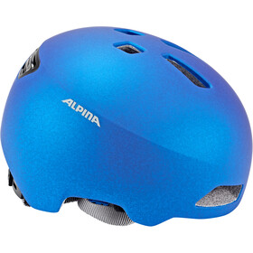 Alpina Hackney Helm Kinder translucent blue